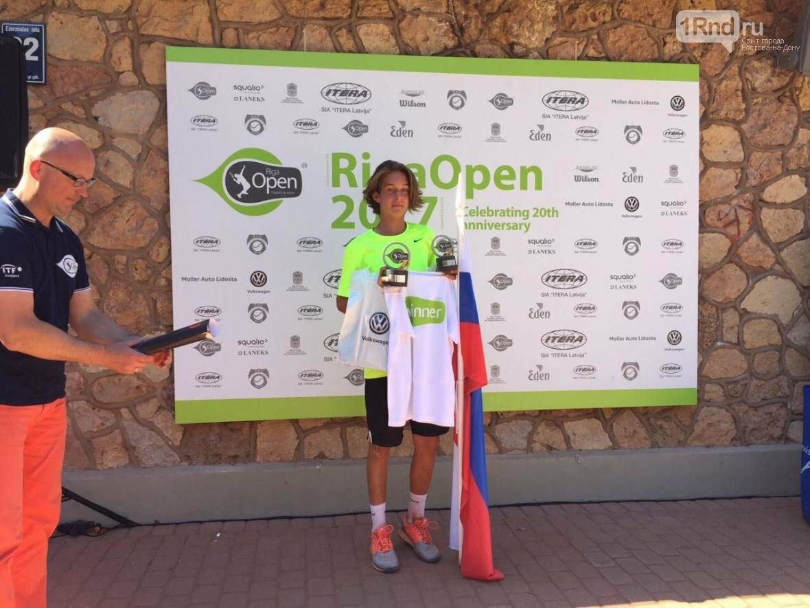 Теннисист ЦСКА Роберт Корелов  стал победителем международного турнира , фото-1
