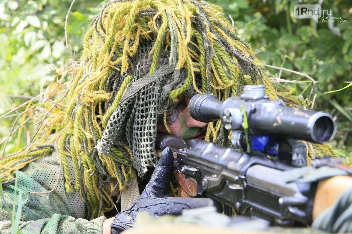 Снайперы Южного военного округа уничтожили более 100 беспилотников, фото-1