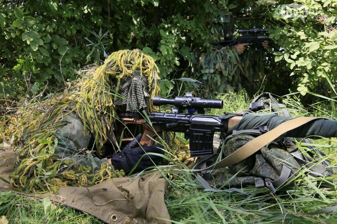 Снайперы Южного военного округа уничтожили более 100 беспилотников, фото-3