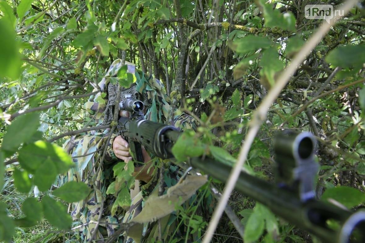 Снайперы Южного военного округа уничтожили более 100 беспилотников, фото-4