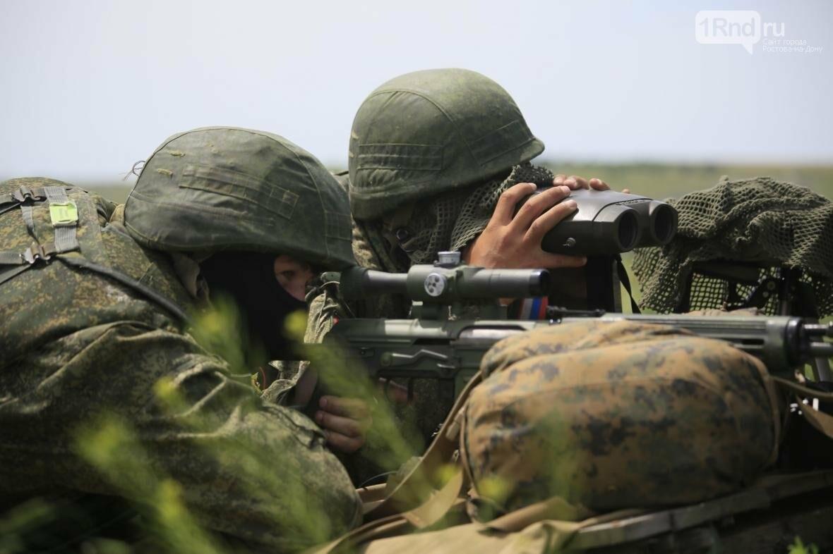 Снайперы Южного военного округа уничтожили более 100 беспилотников, фото-6