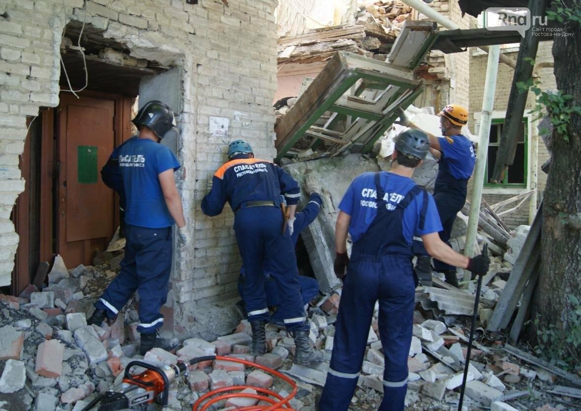 Здание обрушилось в Новошахтинске, из-под завалов вытащили мужчину, фото-2