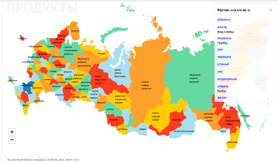 Инфографика: Яндекс