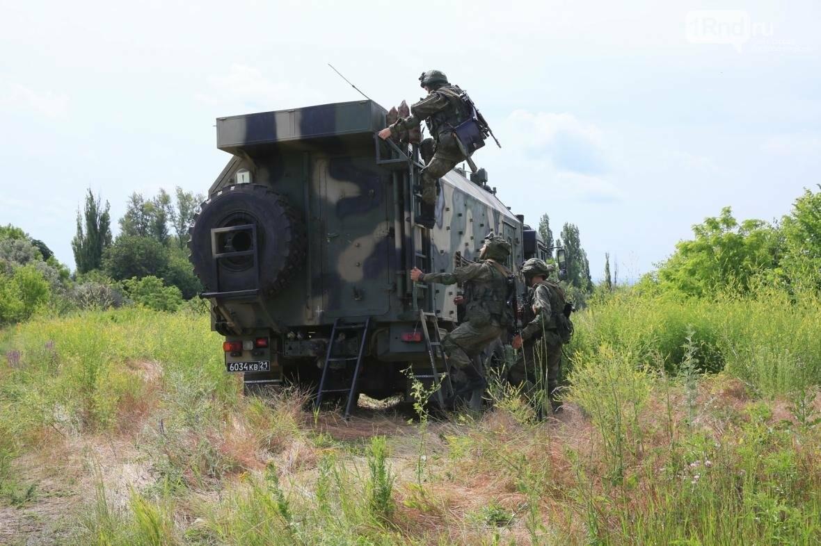 Связисты ЮВО отразили атаку условных диверсантов, фото-2, Фото: пресс-служба ЮВО