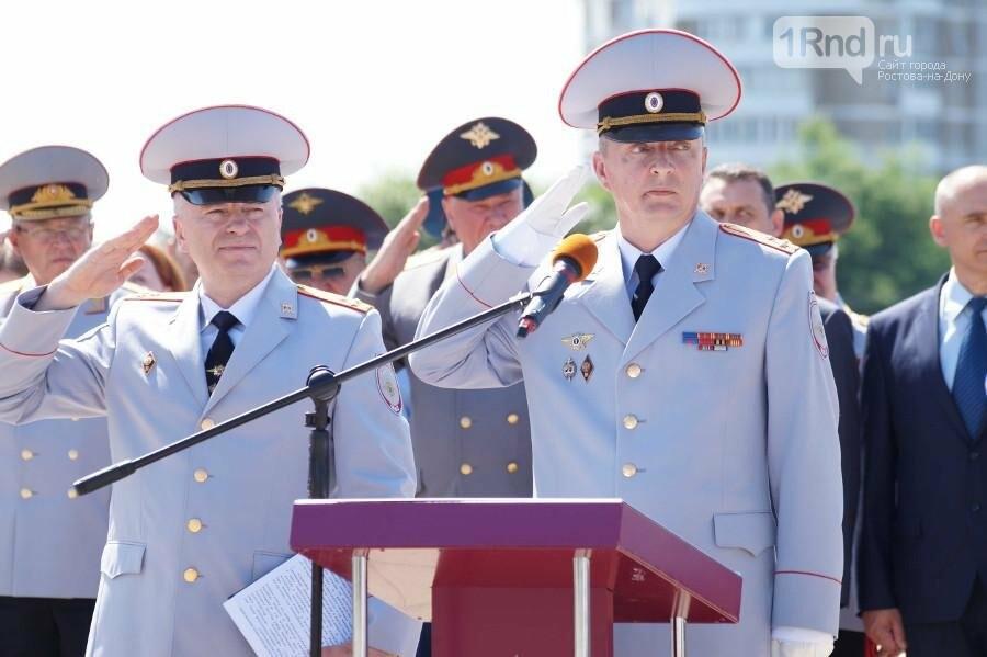В Ростове на Театральной площади прошёл выпуск курсантов РЮИ, фото-2
