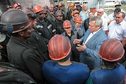 В Ростовской области перед шахтерами погасили долги по зарплате, фото-1, Фото: из архива пресс-службы губернатора Ростовской области