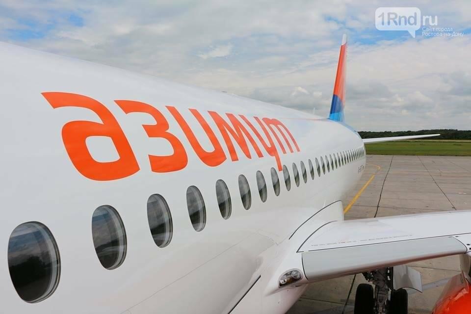 В Ростов прибыл первый суперджет авиакомпании «Азимут», фото-5, Фото: пресс-служба аэропорта Ростова-на-Дону