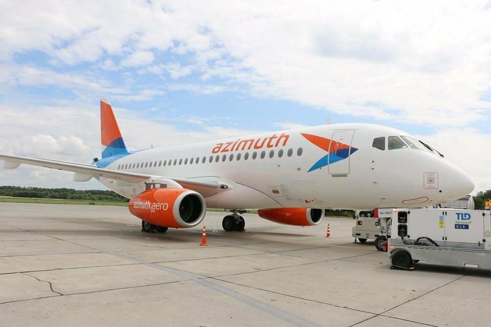 В Ростов прибыл первый суперджет авиакомпании «Азимут», фото-3, Фото: пресс-служба аэропорта Ростова-на-Дону