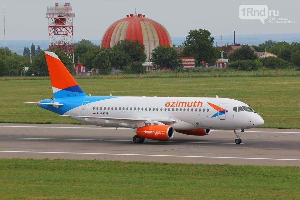 В Ростов прибыл первый суперджет авиакомпании «Азимут», фото-4, Фото: пресс-служба аэропорта Ростова-на-Дону