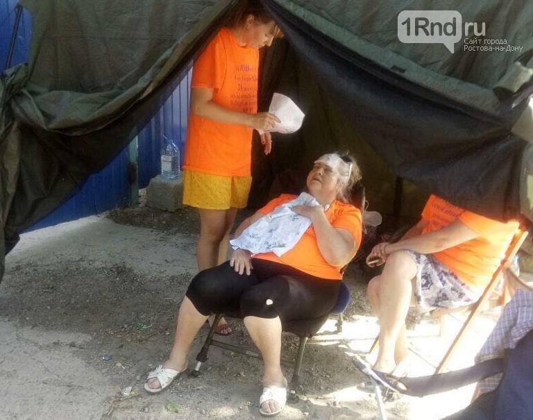 Довели до инфаркта: в пятый день голодовки обманутым инвесторам вызвали скорую , фото-1