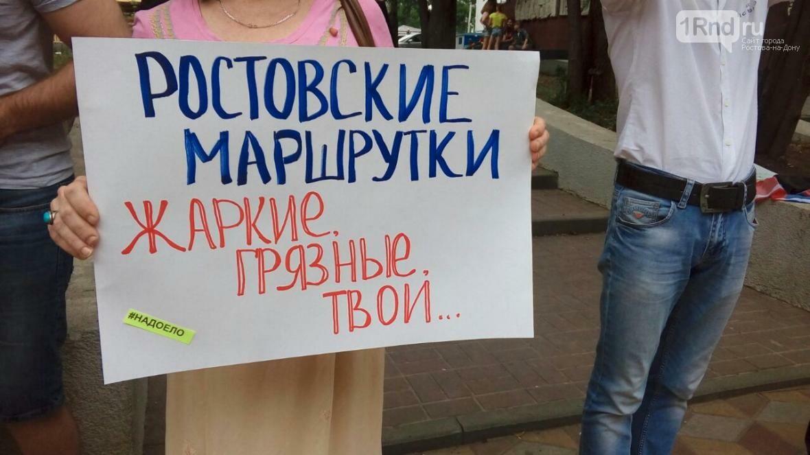 В Ростове полиция запретила пикетчикам сбор подписей за реформу общественного транспорта, фото-3
