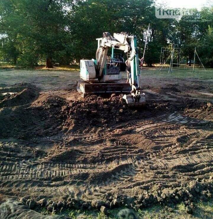 Компромисса не будет: в парке Чуковского начали строить спортплощадку Водяновой, фото-1