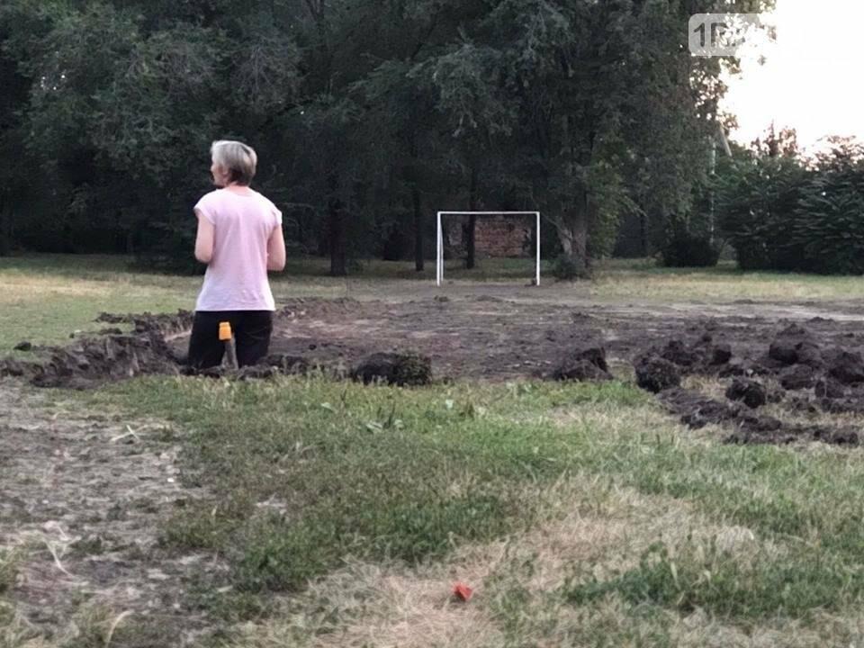 Компромисса не будет: в парке Чуковского начали строить спортплощадку Водяновой, фото-2