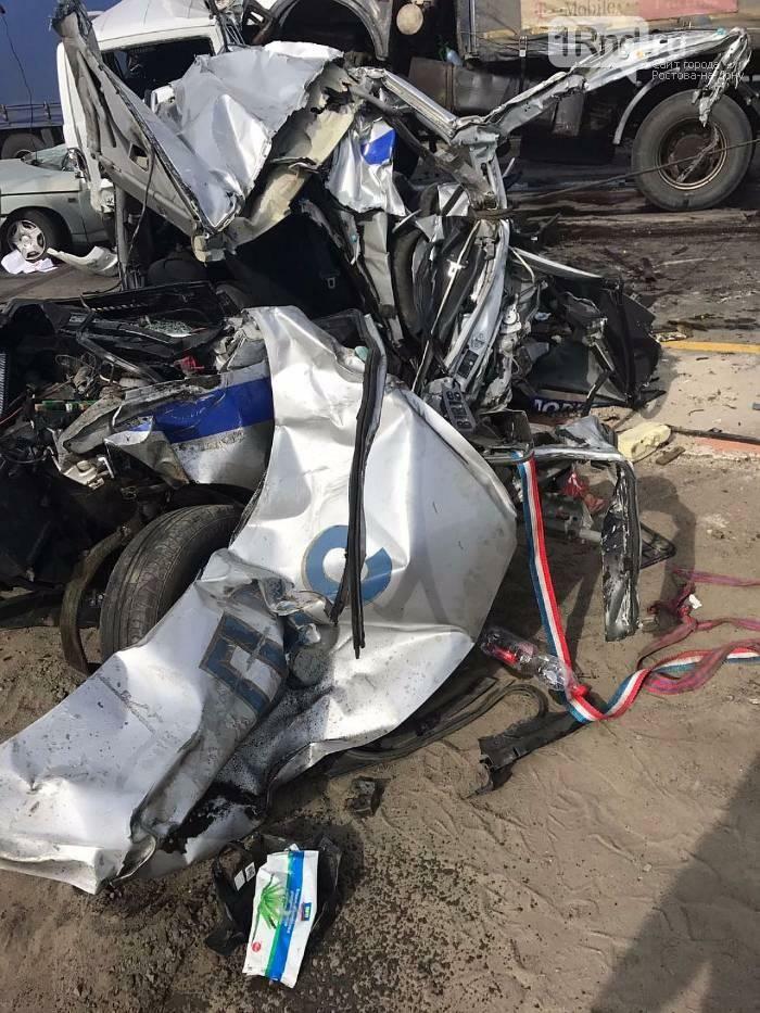 Два сотрудника ДПС получили тяжелые травмы в массовом ДТП на трассе М-4 «Дон» (ВИДЕО 18+), фото-1