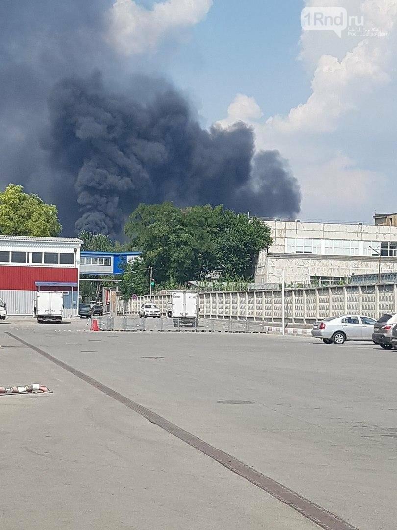 В Ростове на территории бывшего завода «Электроаппарат» произошел пожар, фото-5, Фото: соцсети