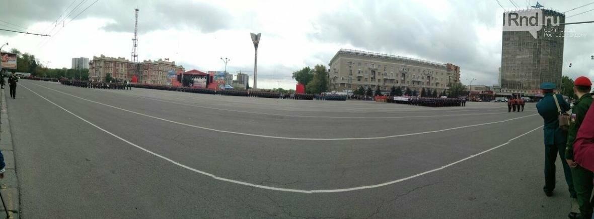 Панорама Театральной площади, 9 мая 2017