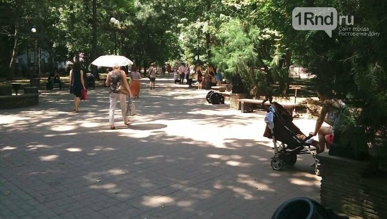 Правило тени: как Ростов-на-Дону переживает экстремальную жару, фото-6