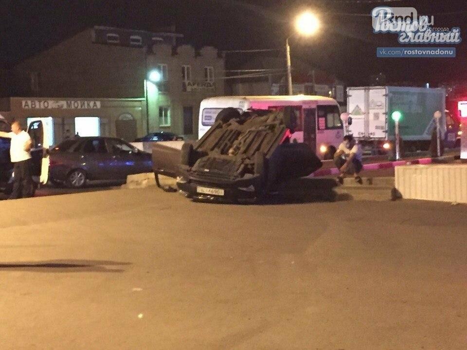 На Малиновского Hyundai Solaris столкнулся с автобусом, фото-3, Фото: Ростов-на-Дону Главный