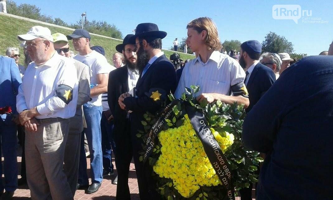 Акция памяти жертв массовых расстрелов в Змиевской балке проходит в Ростове-на-Дону, фото-2