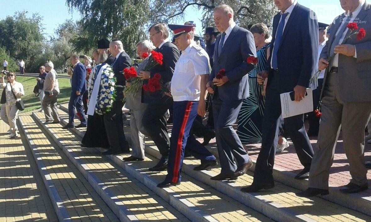 Акция памяти жертв массовых расстрелов в Змиевской балке проходит в Ростове-на-Дону, фото-4