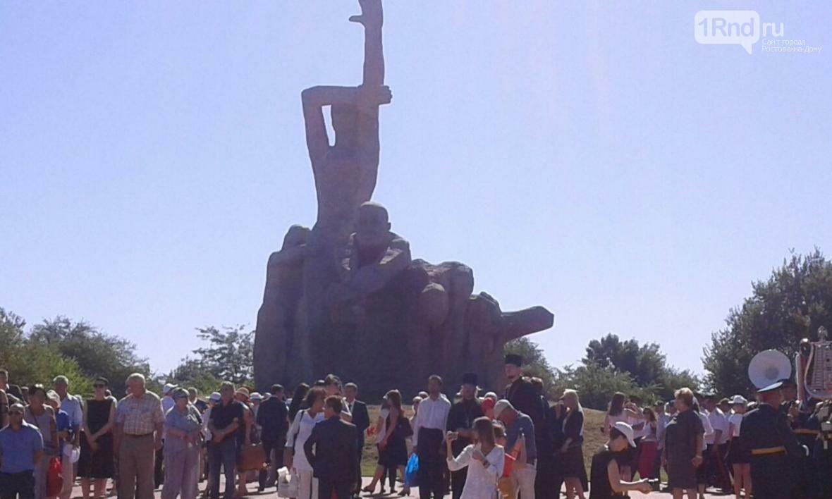 Акция памяти жертв массовых расстрелов в Змиевской балке проходит в Ростове-на-Дону, фото-5