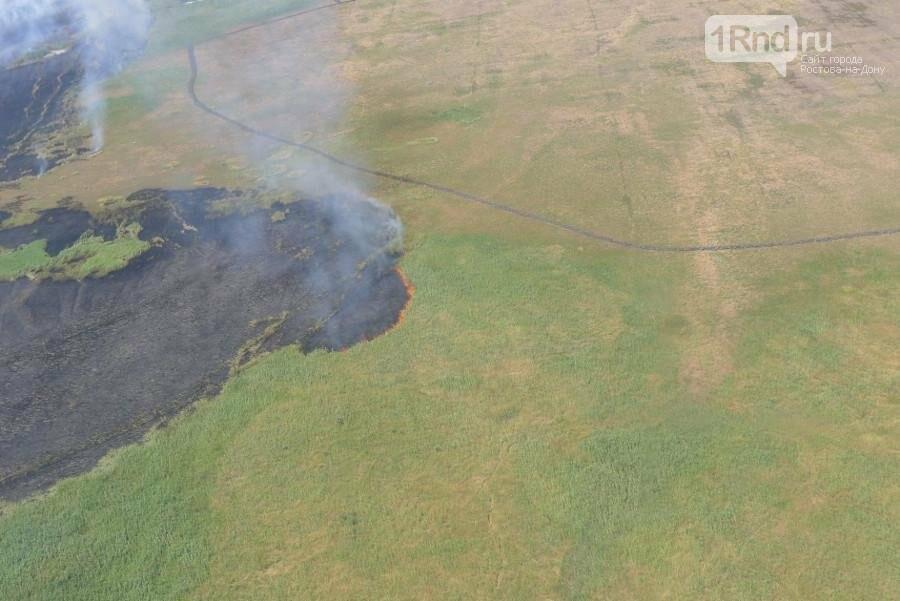Семь очагов ландшафтных пожаров выявил воздушный мониторинг донского региона , фото-2