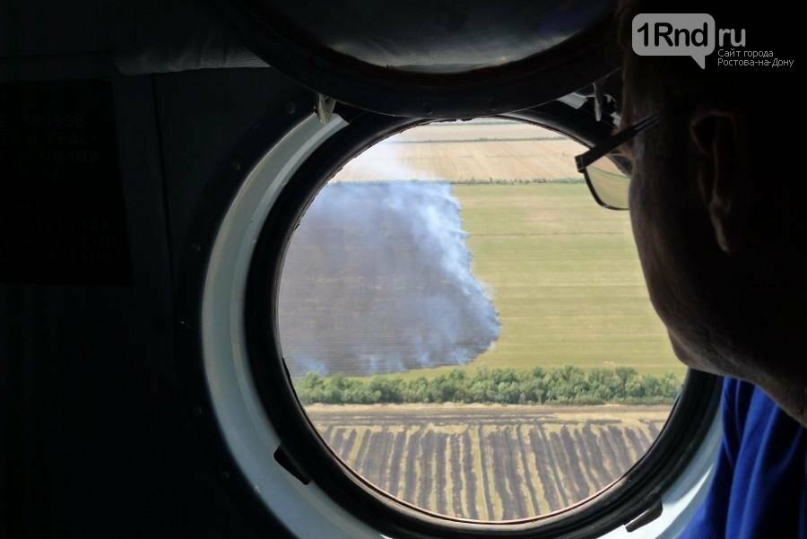 Семь очагов ландшафтных пожаров выявил воздушный мониторинг донского региона , фото-3