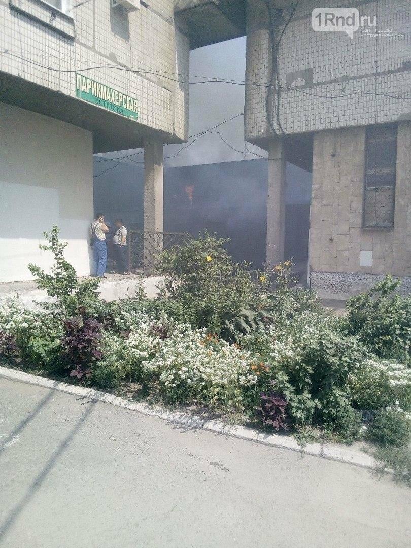 """Пожарные тушат возгорание в цехе мороженого в Таганроге, фото-1, Фото: паблик """"Подслушано в Таганроге"""""""