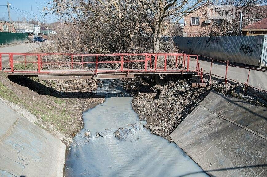 Минприроды: в Ростове обнаружено более 60 мест загрязнения реки Темерник, фото-1, Анатолий Карбинов