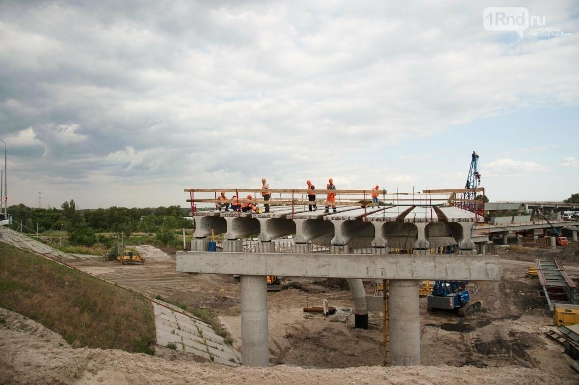 Строительство развязки на Южном подъезде к Ростову близится к финалу, фото-4