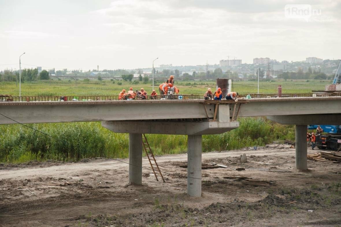 Строительство развязки на Южном подъезде к Ростову близится к финалу, фото-5