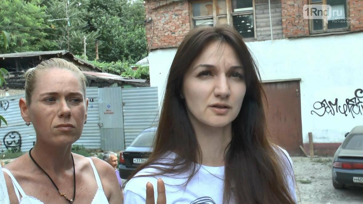 В центре Ростова люди боятся за свои жизни и жилье, фото-11