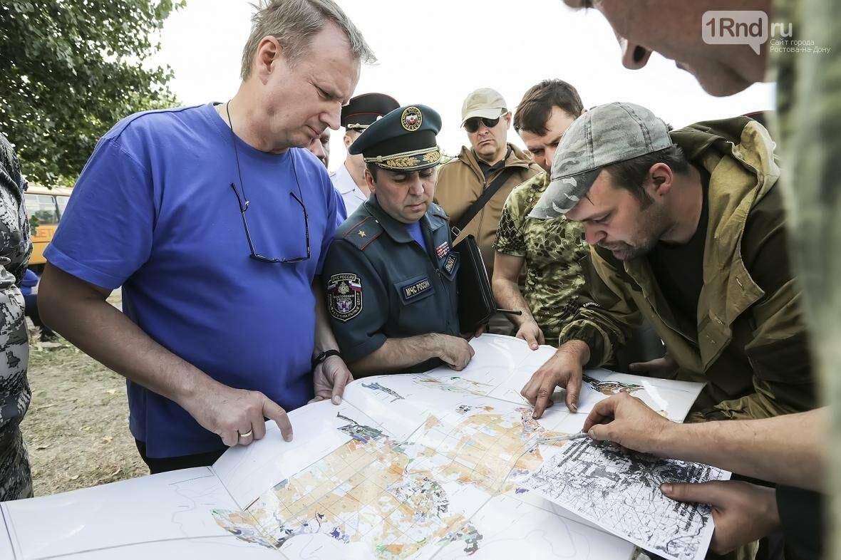 Губернатор потребовал узнать причину пожара в Усть-Донецком районе и наказать виновных, фото-1, Фото пресс-службы ПРО