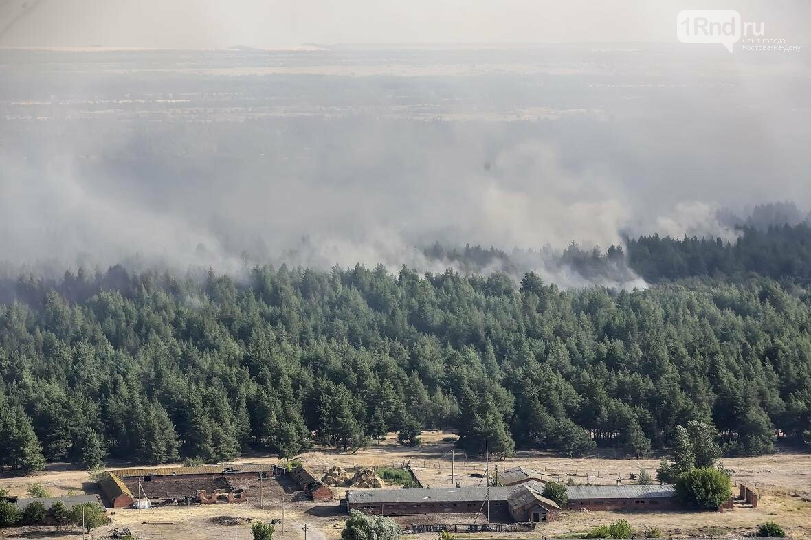 «Надеемся, что к концу дня лесной пожар потушим» - замгубернатора Вадим Артёмов, фото-1