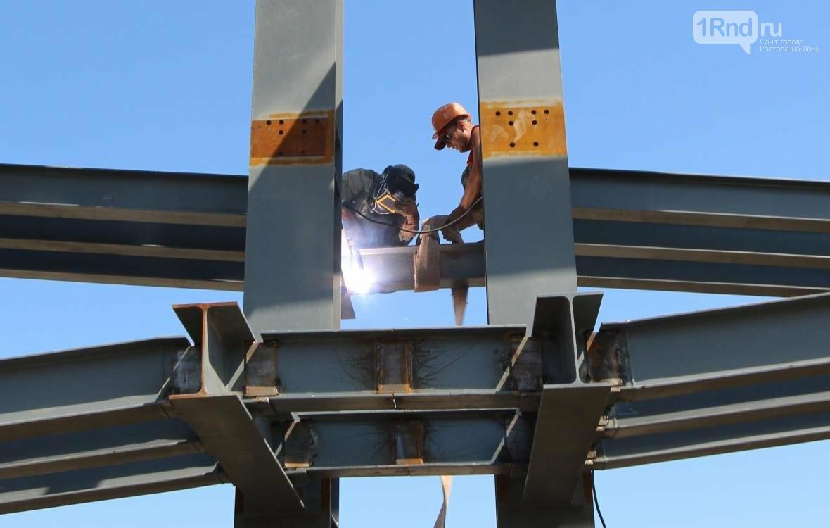 На трассе в Ростовской области строят переходы новой конструкции, фото-1