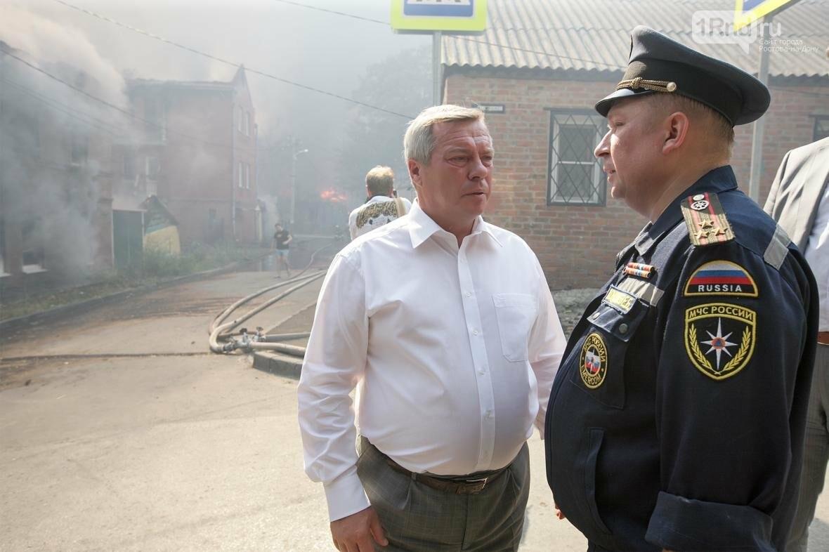 Полностью сгоревшие дома восстанавливать не будут - Кушнарев, фото-1