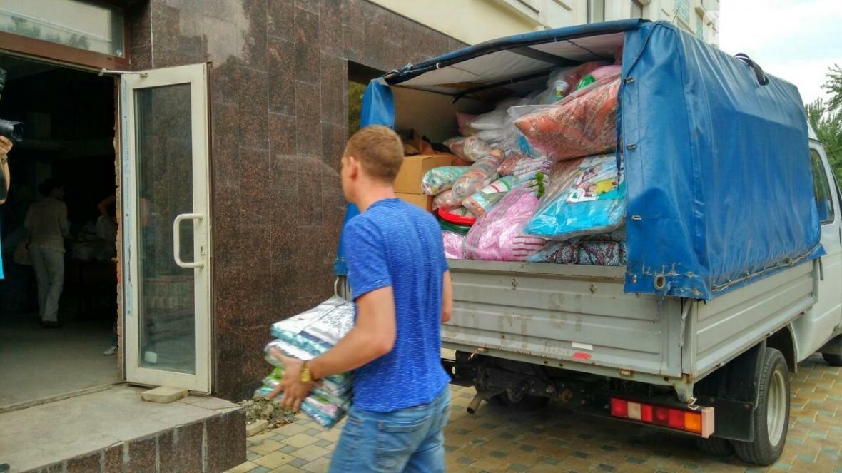 Дружный город: в Ростове всем миром собирают помощь для погорельцев, фото-15, Фото: Саша Савичева / 1rnd.ru