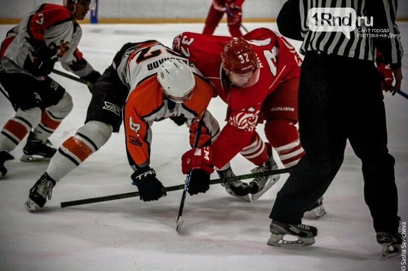 Хоккей на «Айс Арене»: «Ростов» разгромил команду из Нижнего Тагила