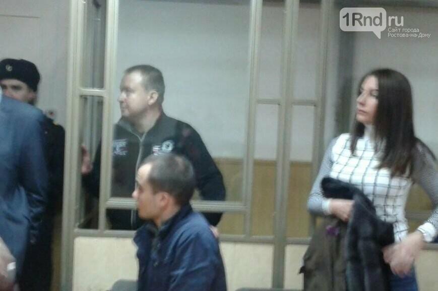 Александр Оцимик на скамье подсудимых