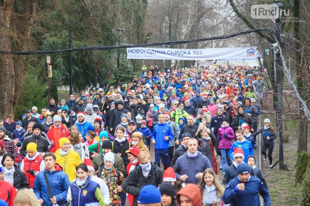 Забег «Begin: Побегай 1 января» собрал около двух тысяч ростовчан, фото-2