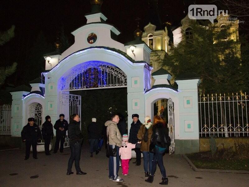 Около 42 тысяч человек отпраздновали Рождество в храмах Ростовской области, фото-5, Фото: пресс-центр МВД