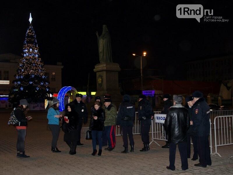 Около 42 тысяч человек отпраздновали Рождество в храмах Ростовской области, фото-4, Фото: пресс-центр МВД