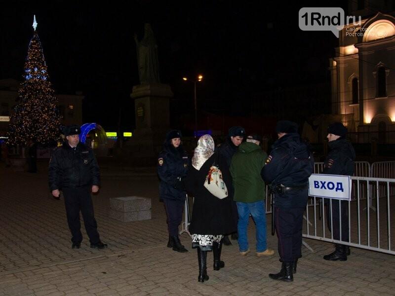 Около 42 тысяч человек отпраздновали Рождество в храмах Ростовской области, фото-3, Фото: пресс-центр МВД