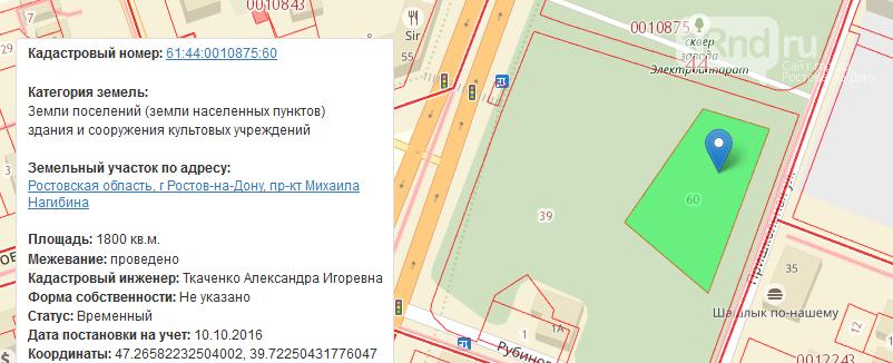 Разрешение строить церковь в сквере на пр.Нагибина в Ростове не выдавалось - власти, фото-1