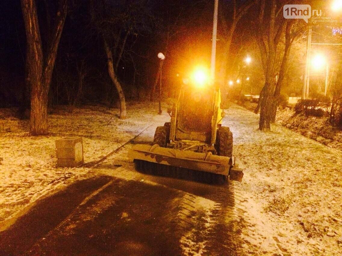 Как коммунальщики Ростова справились с первым серьёзным испытанием зимы, фото-1