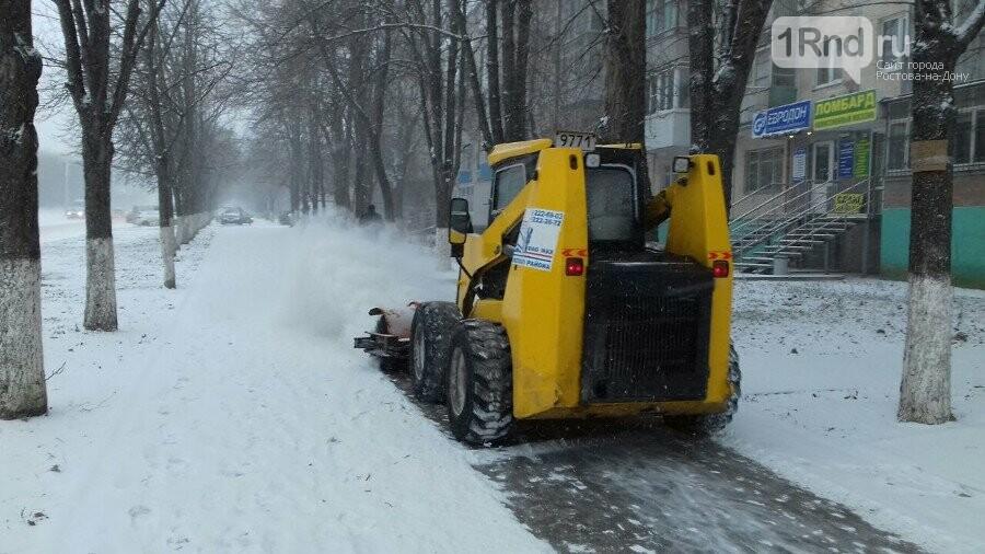 Как коммунальщики Ростова справились с первым серьёзным испытанием зимы, фото-6