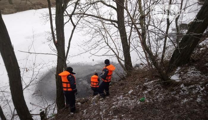 Призывники обнаружили труп мужчины в реке Гнилуша Ростовской области, фото-1