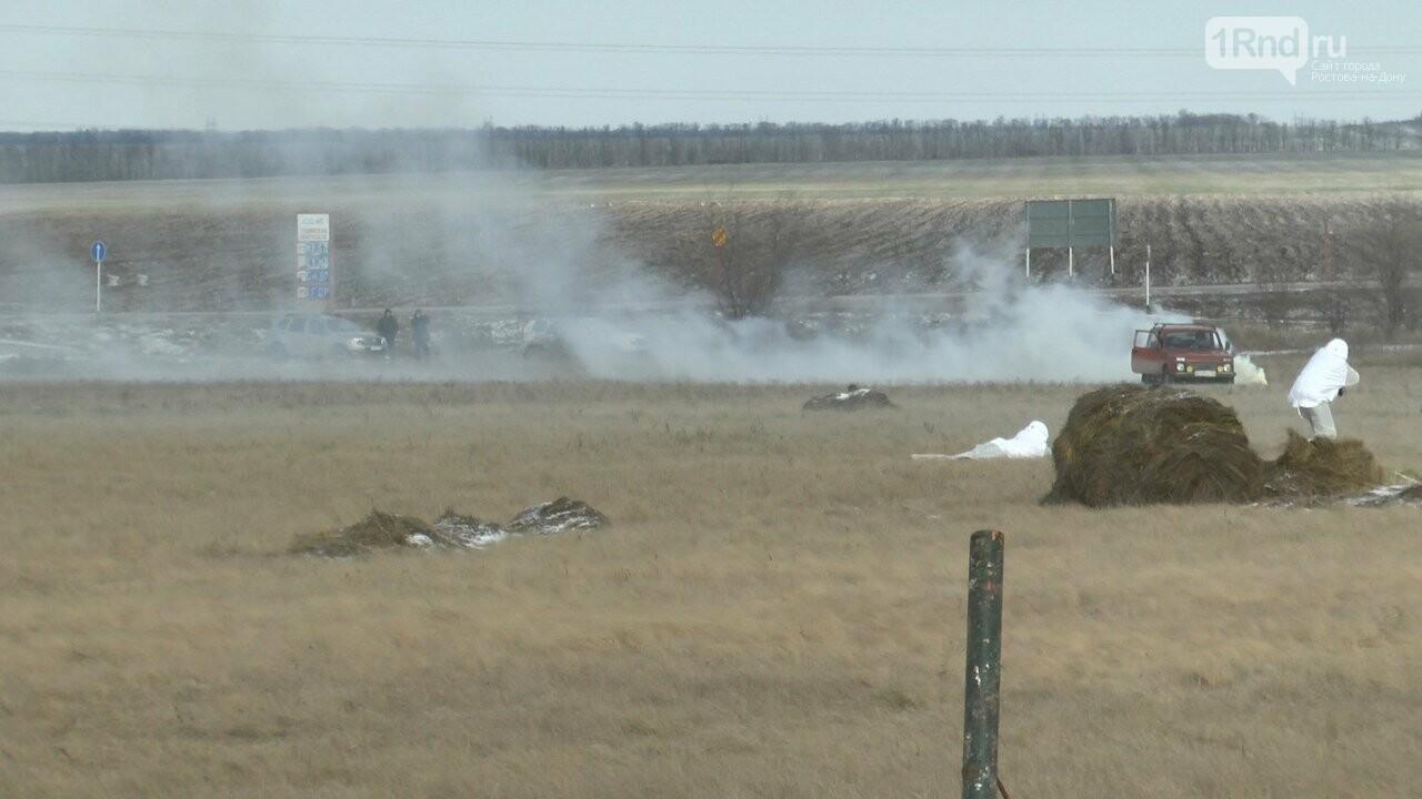 Видео из кабины пилота: как истребители садились на ростовскую трассу, фото-9