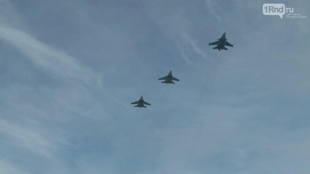 Видео из кабины пилота: как истребители садились на ростовскую трассу, фото-12