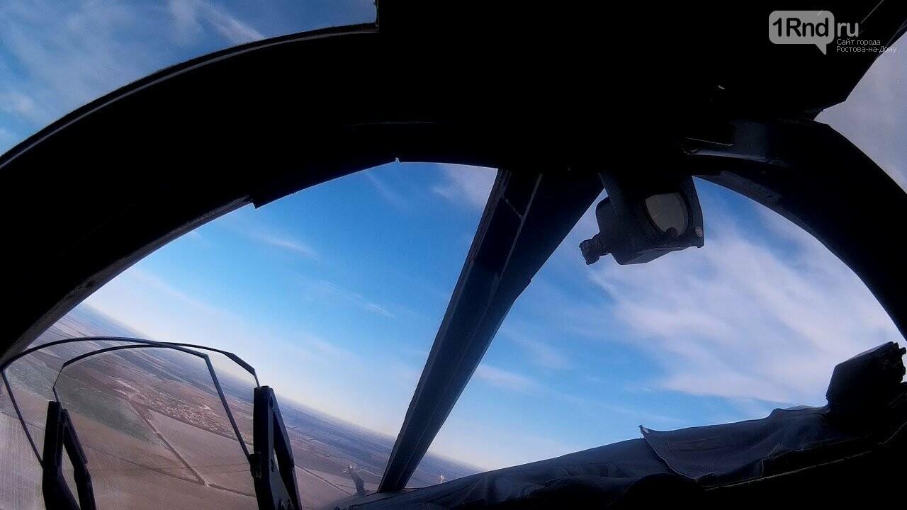 Видео из кабины пилота: как истребители садились на ростовскую трассу, фото-6